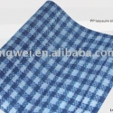 check blue&white pe tarpaulin sheet