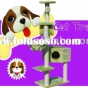 good sales plush cat tree furniture in garden