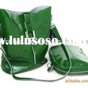 hand bags fashion, leisure bag, travelling bag, green color,suit for fashion young ladies !