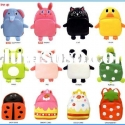 Japan cartoon animal shape school kid bags