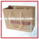 Tote brown kraft paper bag