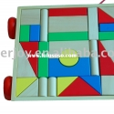 Building block set,wooden blocks