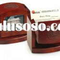 wooden desktop set,wooden name card holder box,office stationery set,desk organizer,business gift,ca