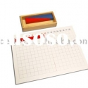 Addition Strip Board, Montessori toy, Montessori Material