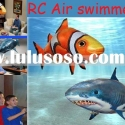 2011 New arrival 3 CH RC Air swimmers clownfish shark/Infra-red rc flying fish/Wholesale