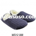 fashion ladies knit slipper