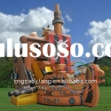 2011 hot sale Interesting pirate ship Combo slide giant inflatable slide