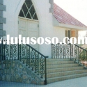 WH-192E 2011 outdoor modern wrought iron stair railing