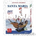 3D PAPER MODEL PUZZLE SANTA MARIA (ESPANA)