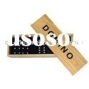 Double Six Dominoes Set-Wooden Box