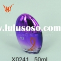 Charm Purple Empty Glass Perfume Bottle Packaging
