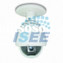 700TVL IP66 Weatherproof Outdoor Mini PTZ Speed CCTV Dome Camera with 4 to 9mm Manual Zoom Lens