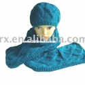 fashion hat scarf set