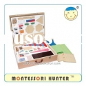 Family set montessori of educational toys