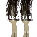 evening make up plastic hair brush