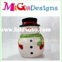Christmas Snowman Cookie Jar ,Christmas Gift &candy jar