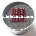 2012 new version 5mm RED magnetic balls neocube