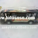 Inertia plastic toy bus