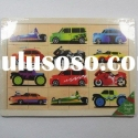 wooden puzzle / car puzzle / intelligence toy