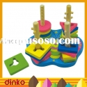 Wooden blocks toy,Wooden twist sorter