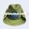 Natural promotional straw hat wholesale cowboy hats