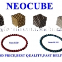 5mm NdFeB colorful magnetic balls neocube