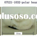 Lovely &amp; lifelike Polar Bear! Plush Animal Hats! High Quality !