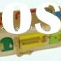 Montessori wooden educational toys-lock box