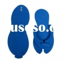 latest cheap hotel slippers foldable flip flop disposable slippers