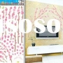 New Fashion Red Flower Wall Stickers (Item: HL5606) Self-adhesive