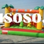 jungle inflatable jumping castle, open bouncer