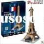 Stereo puzzles/paper model-Eiffel Tower
