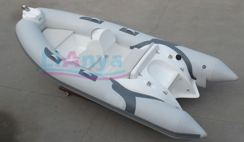 rigid  inflatable boat, semi-rigid boat, rib boat Lianya 380