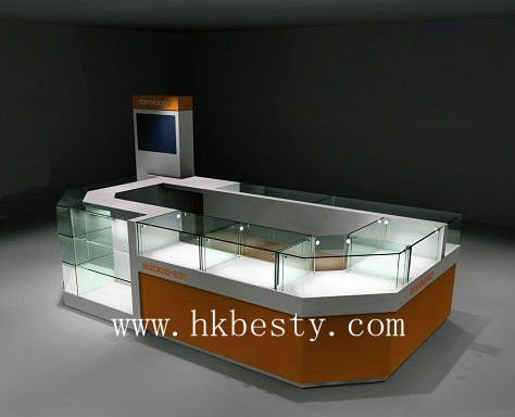 Unique  style jewelry display counter showcase or kiosk display showcase(33)