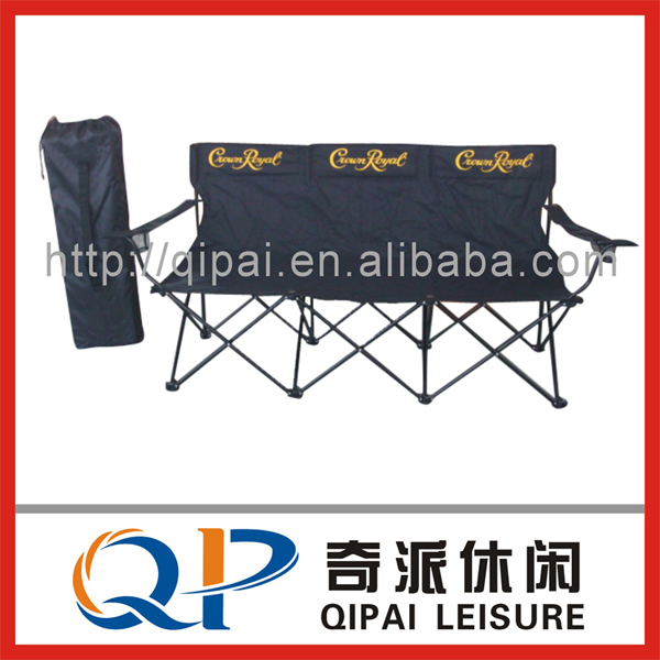 Folding chair/ camping chair/three seats chair