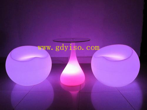 LED ball chair/table-ZL03-YISO FURNITURE