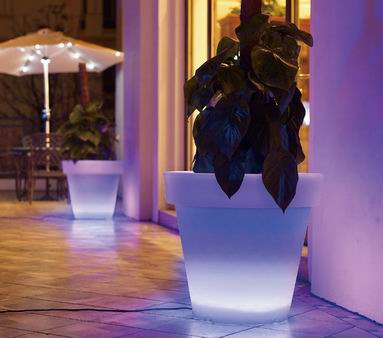 LED Flower pot-JL01-YISO FURNITURE