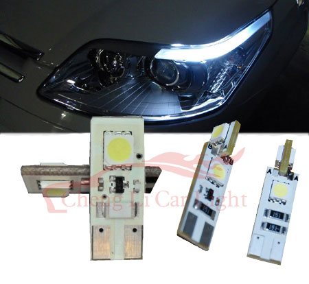 can bus led-T10-WG-2x5050SMD; Canbus Led Lights