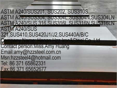 stainless steel ASTM A240/SUS 316,ASTM A240/SUS 316L,ASTM A240/SUS 316N,ASTM A240/SUS 316LN