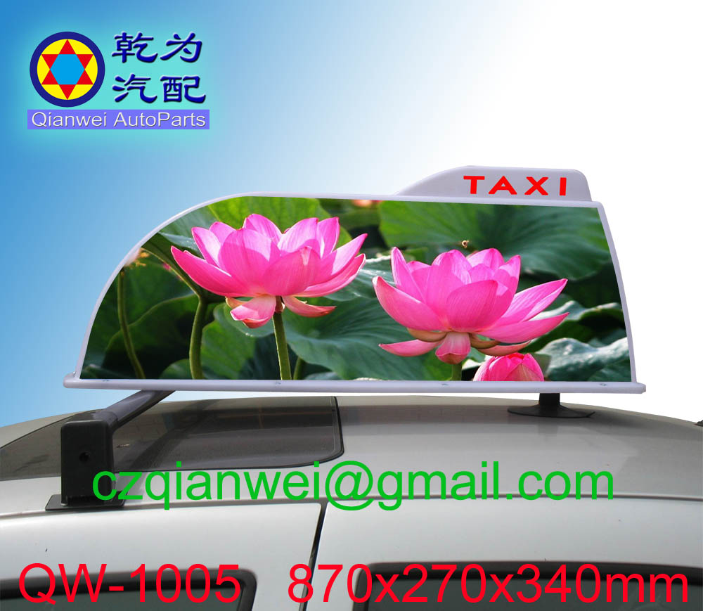 taxi roof advertising sign,taxi top advertising light box