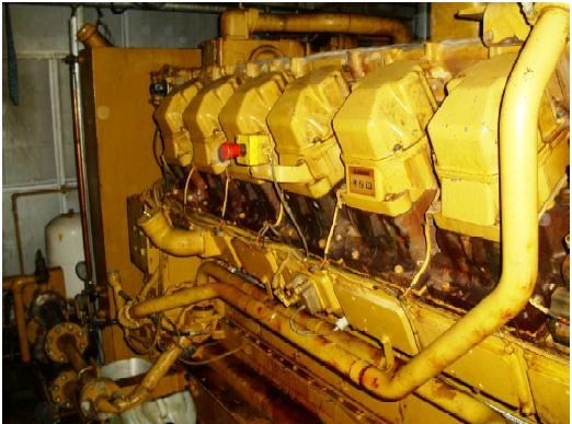 Two (2)1250 KVA Caterpillar 3516 Gas Generator Sets