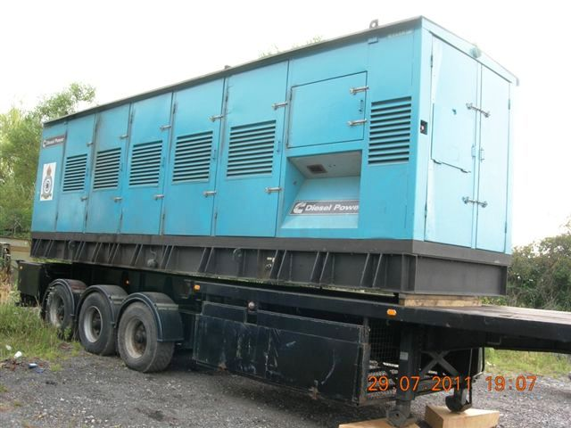 Two (2) 1000 KVA Cummins Diesel Generator Sets
