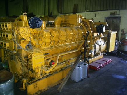1250 KVA Caterpillar 3516 Gas Generator Set