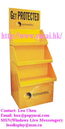 POP Paper Display Stands,POP Display Rack