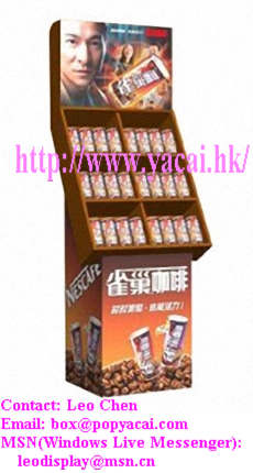 Coffee Display Stand Shelf,POP Display Stands