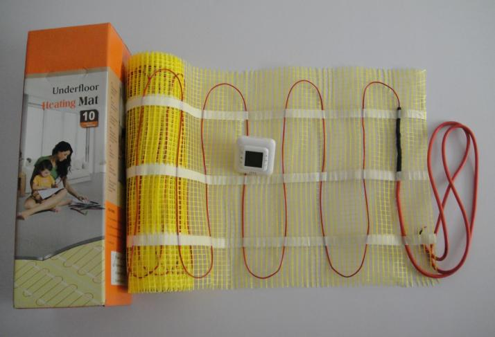CE approved underfloor heating mat