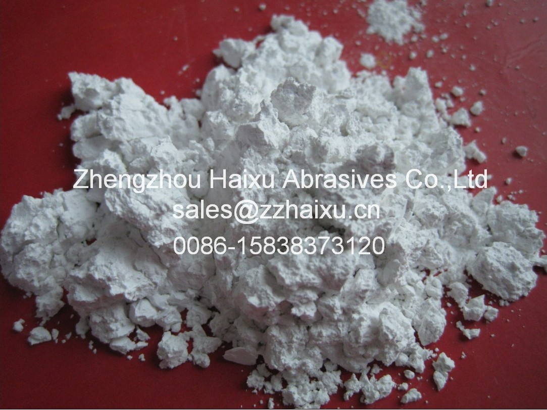 White fused aluminum oxide powder