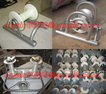 Triple Roller/Cable Rollers/Cable Guide And Roller Stand