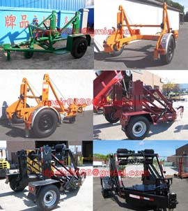 Cable Conductor Drum Carrier/Cable Reel Trailer