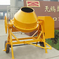 portable concrete mixer TDCM125-6DA